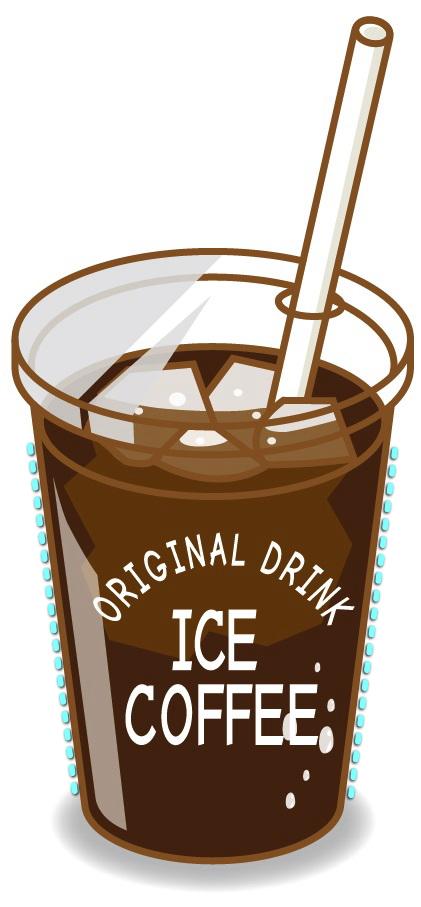 アイスコーヒーのグラスの結露