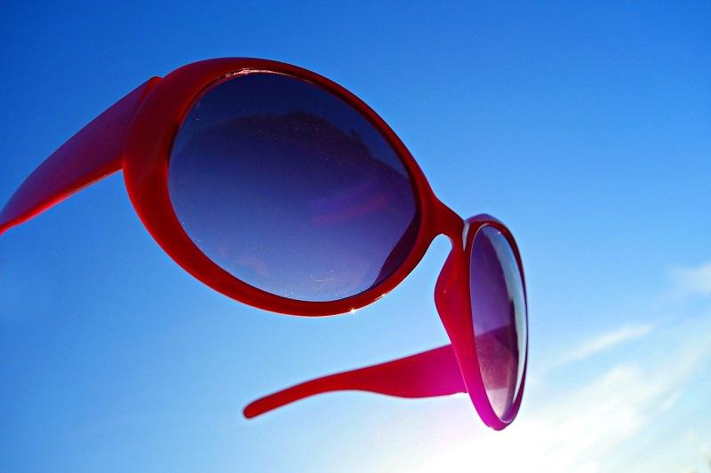 紫外線対策-サングラス