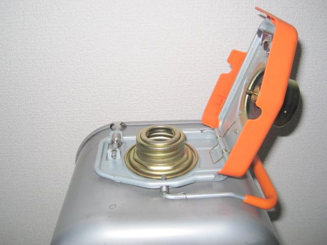 コロナ石油ファンヒーター、よごれま栓