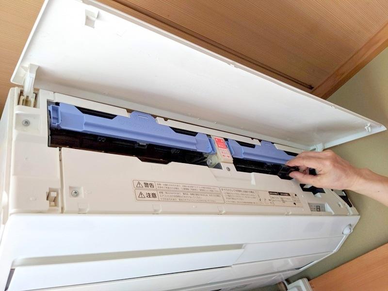 ルームエアコンのフィルター掃除でカビ発生の予防