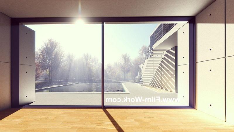 夏の暑さ対策には窓ガラスに遮熱フィルム、遮熱断熱フィルム