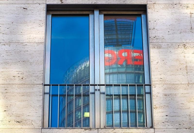ミラー窓ガラス