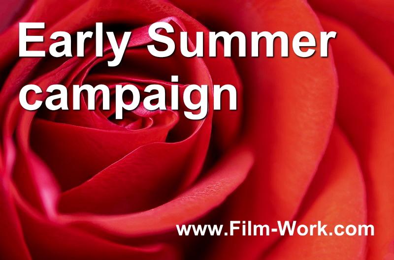 初夏の99%UVカット窓ガラスフィルム、キャンペーン