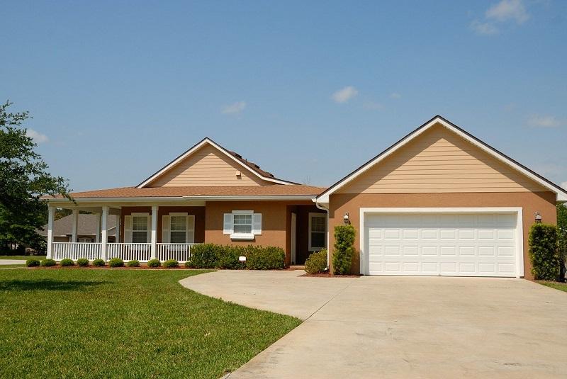 アメリカの一戸建て住宅
