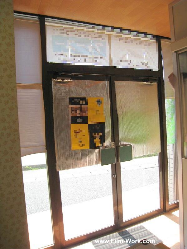 遮熱断熱ガラスフィルムRSP35LE施工事例-静岡県浜松市北区