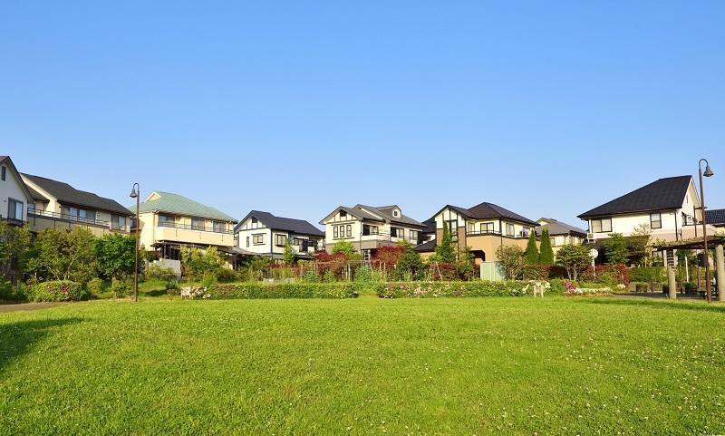 日本の住宅地