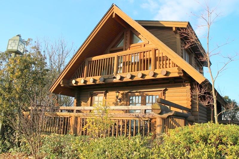 ログハウス/Log house