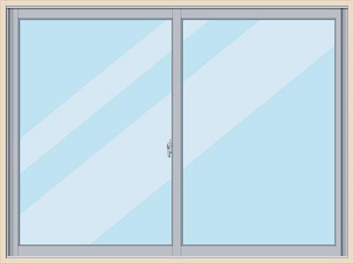 一般的な腰高窓