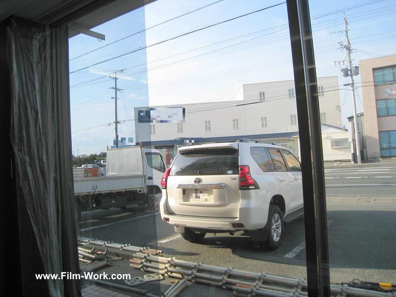 遮熱フィルムRSP35施工事例-静岡県浜松市南区