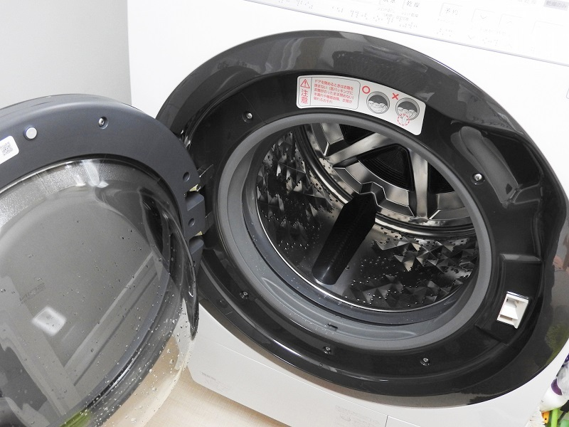 横ドラム式洗濯機
