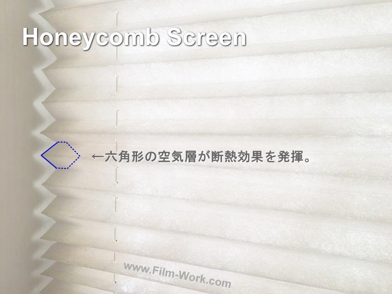 ハニカムスクリーン、ハニカムブラインド、ハニカムシェードの断熱効果とメリット、デメリット