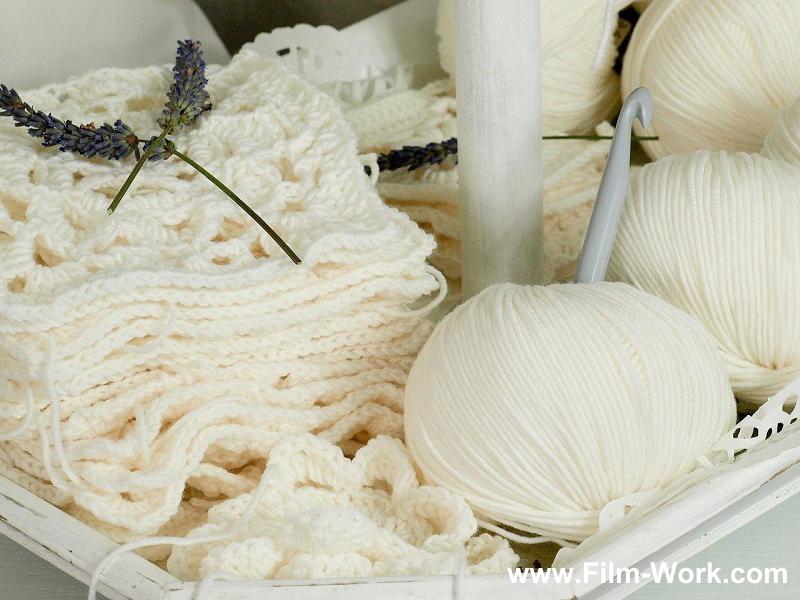 ウール織物