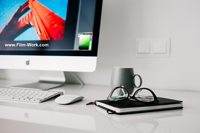 PCデスク&Apple mac