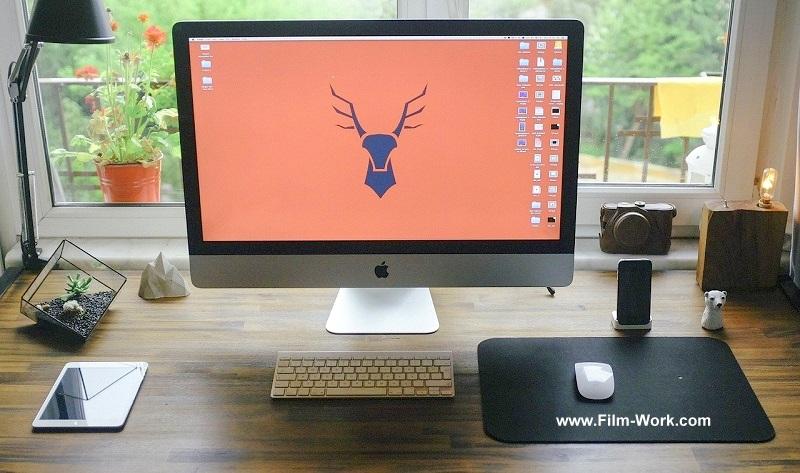 デスク& Apple mac PC