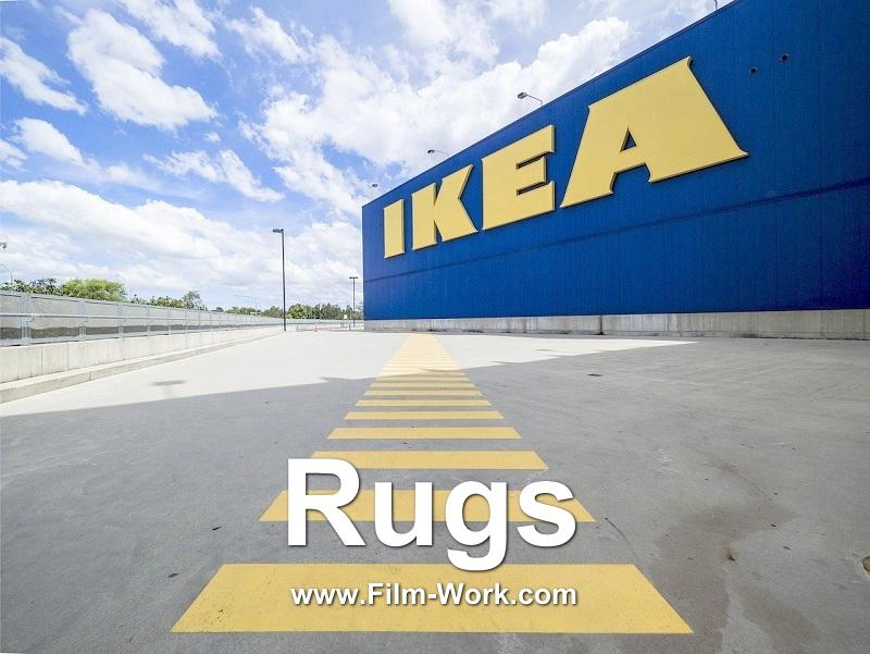 IKEA/イケアのラグカーペット,ドアマット,バスマット