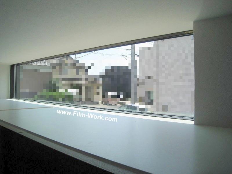 Low-Eペアガラス(FIX窓)にサンゲツ/クレアス、ピルビ70/GF1712施工前