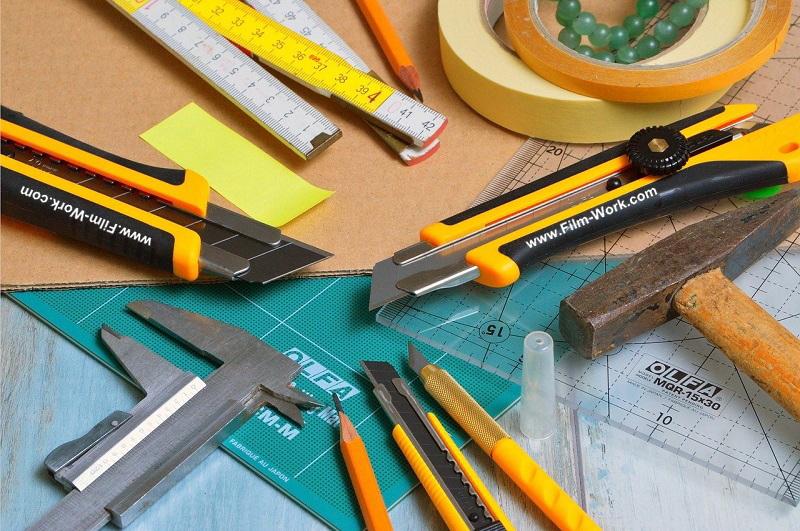 ガラスフィルム施工、貼り付け道具